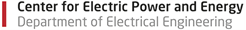 Center for Electric Power and Energy logo