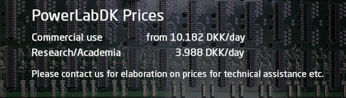 PowerLabDK Price List