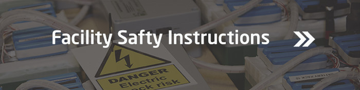 Read our safty instructions